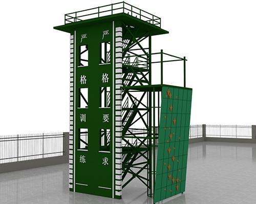 四层双窗训练塔